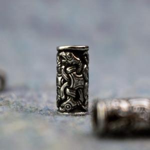 Viking Jewelry for beard/hair - Odin's Ravens
