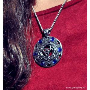 Pandantiv viking Cristalele lunii