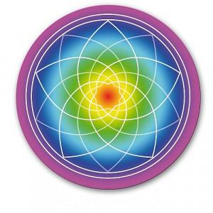 Abțibild/sticker Floarea Vieții Venus