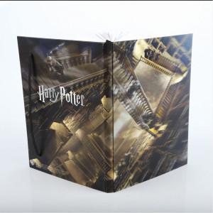 Agenda/Jurnal cu coperti 3D licenta Harry Potter - Hogwarts