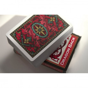 Carti de joc Bicycle Red Dragon