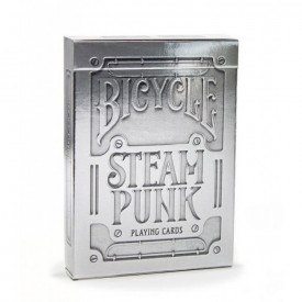 Carti de joc Bicycle Silver Steampunk