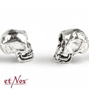 Cercei argint Craniu Uman