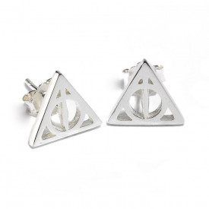 Cercei argint licenta Harry Potter Talismanele Mortii