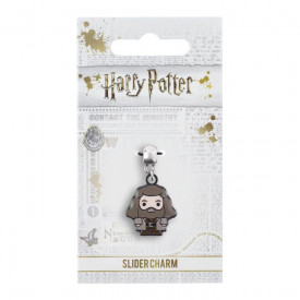 Charm placat argint licenta Harry Potter Hagrid