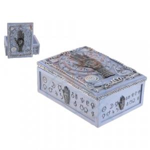 Cutie carti de tarot Mana Fatimei Neagra14cm