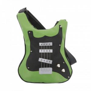 Guitar-shaped bag Rock History