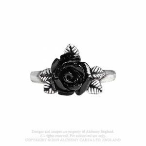 Inel trandafir negru Simbolul Iubirii