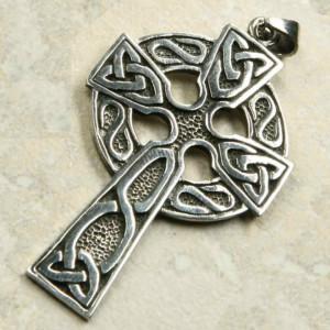 Pandantiv argint Cruce Celtica 6.3cm