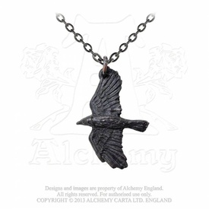 Pandantiv corb Ravenine