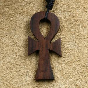Pandantiv lemn Ankh