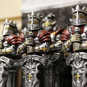 Pix sculptat - Cavaler templier