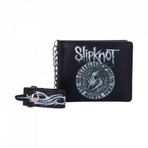 Portofel barbati cu lant Slipknot - Flaming Goat