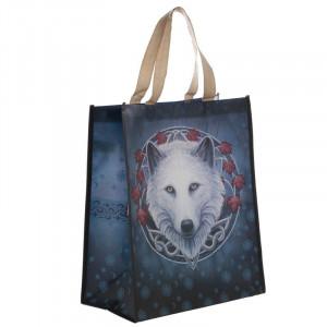Sacosa cumparaturi cu design lup, Gardianul Toamnei - Lisa Parker