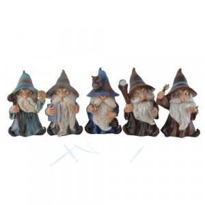 Set 5 statuete Vrajitor 10cm