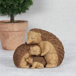Set statuete Familia de Arici - mami, tati si copil
