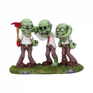 Set statuete Trei zombie intelepti 15.5cm