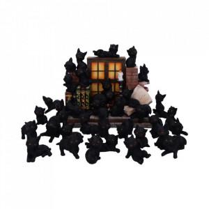 Statueta Adorabila Pisicuta Neagra 6 cm