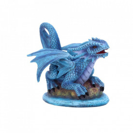 Statueta Age of Dragons - Dragon de apa pui - Anne Stokes - 12 cm