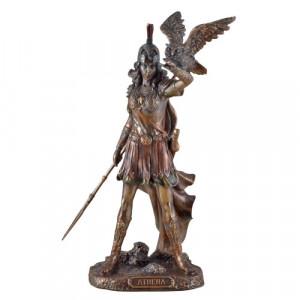Statueta bronz Zeita Atena 20cm