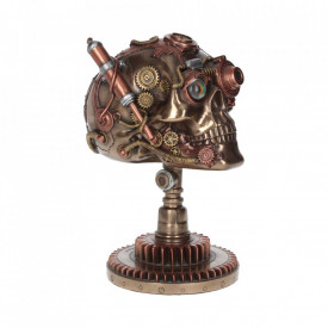 Statueta craniu steampunk Bionic