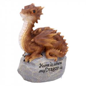 Statueta dragon Acasa este unde este dragonul meu!