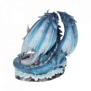 Statueta dragon cu pui Iubire de mama 18cm