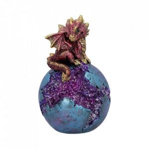Statueta dragon Geode Guard (rosu) 12.7cm