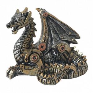 Statueta dragon steampunk Dragonelul mecanic