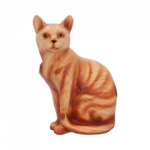 Statueta finisaj lemn Feline Rest 21.5cm