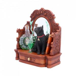Statueta pisica neagra Absinthe - Lisa Parker - 22 cm