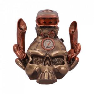Statueta steampunk craniu Petrol Head 18cm