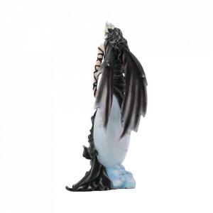 Statueta zana si corb Cer intunecat 28 cm Nene Thomas