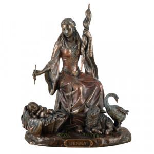 Statueta zeita nordica a iubirii - Frigga 21cm
