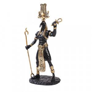 Statueta zeu egiptean Thoth 30 cm