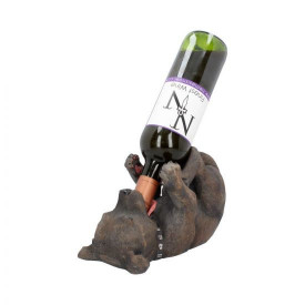 Suport sticle de vin Caine Staffordshire Bull Terrier 25cm