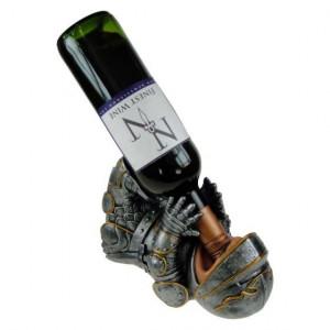 Suport sticle de vin Cavaler 23 cm