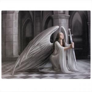 Tablou canvas Binecuvantare 19x25cm- Anne Stokes