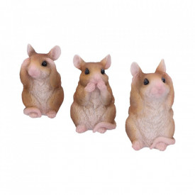 Three Wise Mice 8 cm