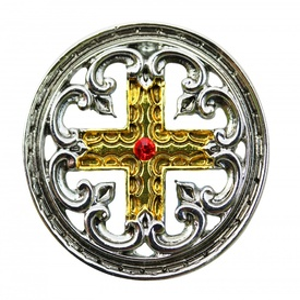Pandantiv medieval Cruce dantelată
