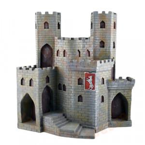 Castel - Display pentru Figurine Cavaler medieval de paza 10 cm