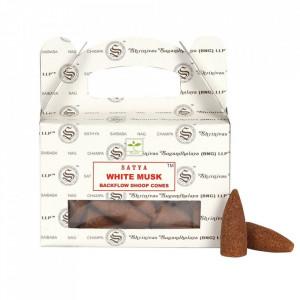 Conuri parfumate backflow Satya - Mosc Alb