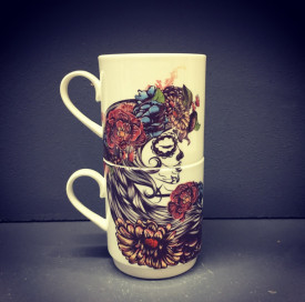 Day of the Dead 2  mugs set