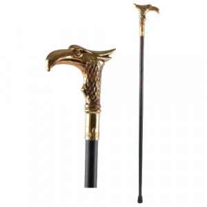 Eagle head decorative walking stick