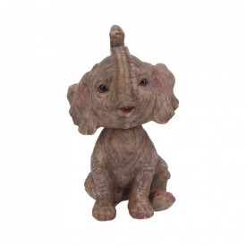 Elefant Bobble-head Bob-ar 16.5cm