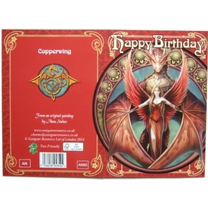 Felicitare dragon Copperwing