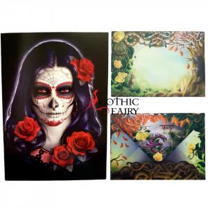 Felicitare gotica Sugar Skull - James Ryman
