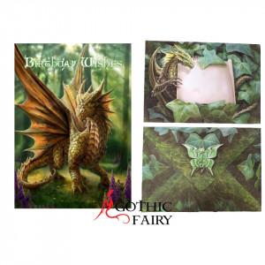 Felicitare pentru ziua de nastere Dragonul Prietenos - Anne Stokes