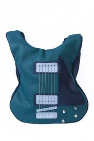 Geanta in forma de chitara rock Green lover