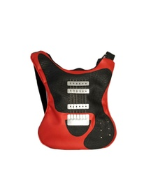 Guitar-shaped bag Old Red Lady